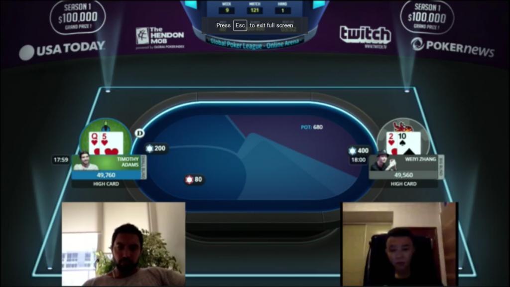 amazing poker performance